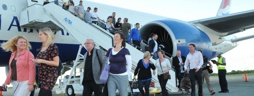 República Dominicana llegada de turistas